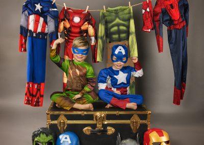 enfant will&matt super heros-web