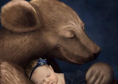 rose bear hug sell copie